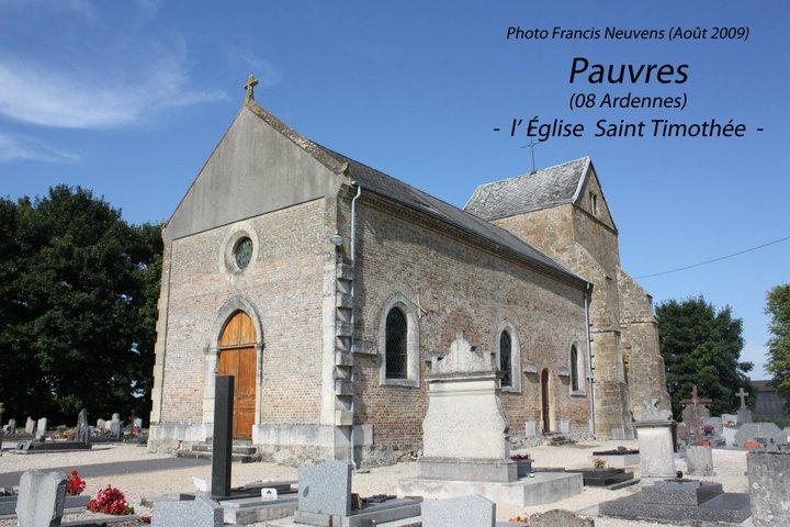 Pauvres et son église St Timothée Pauvre17