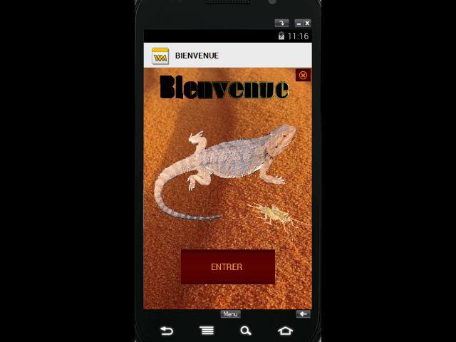 écran  d accueille de l'application vous en penser quoi Mes_ph11