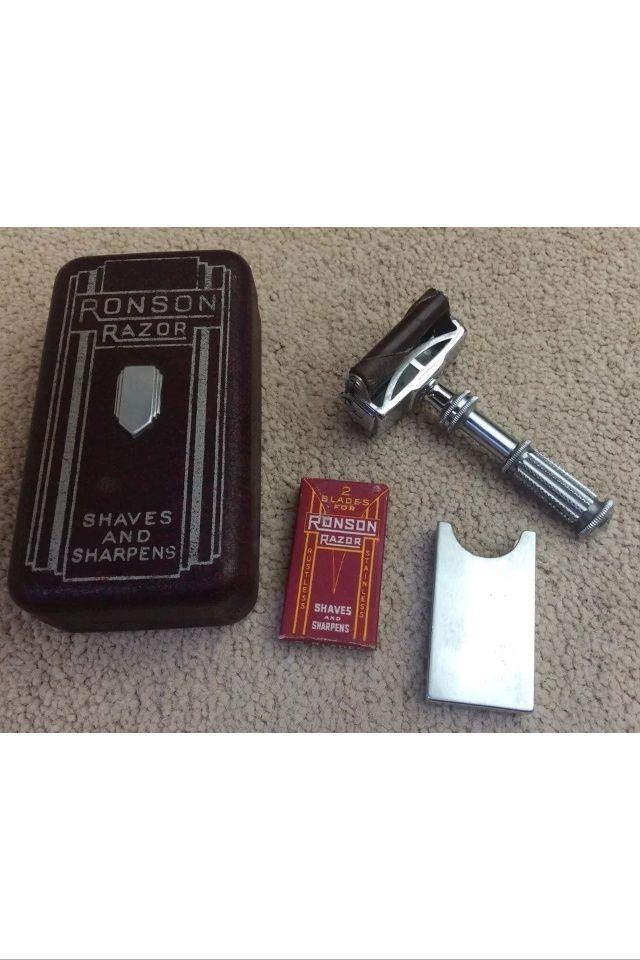 Ronson - 1949 - USA -  Un rasoir au Concept Original.... Performant ! Image119