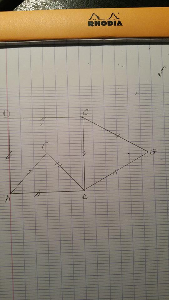 Problème sur une démonstration géométrique. 12087310