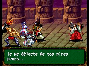 samurai spirits rpg en français neogeo cd article  N1373_12