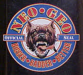 neogeo aes dog tag ! au logo du pitbull  Sans-t10