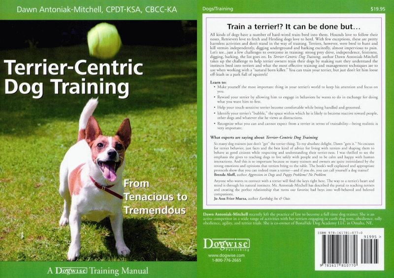Terrier-centric Dog Training: From Tenacious to Tremendous de Dawn Antoniak-mitchell Tct110