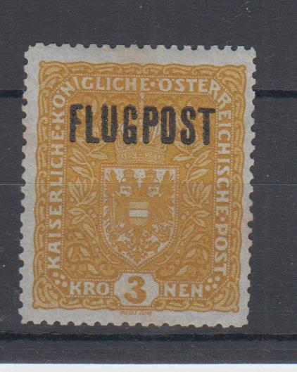 FLUGPOSTMARKEN-AUSGABE 1918  00111