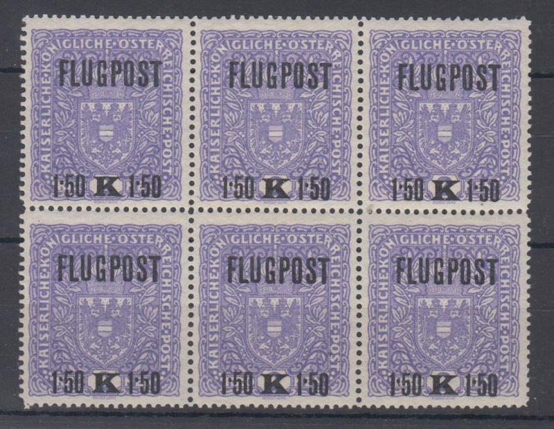 FLUGPOSTMARKEN-AUSGABE 1918  00210