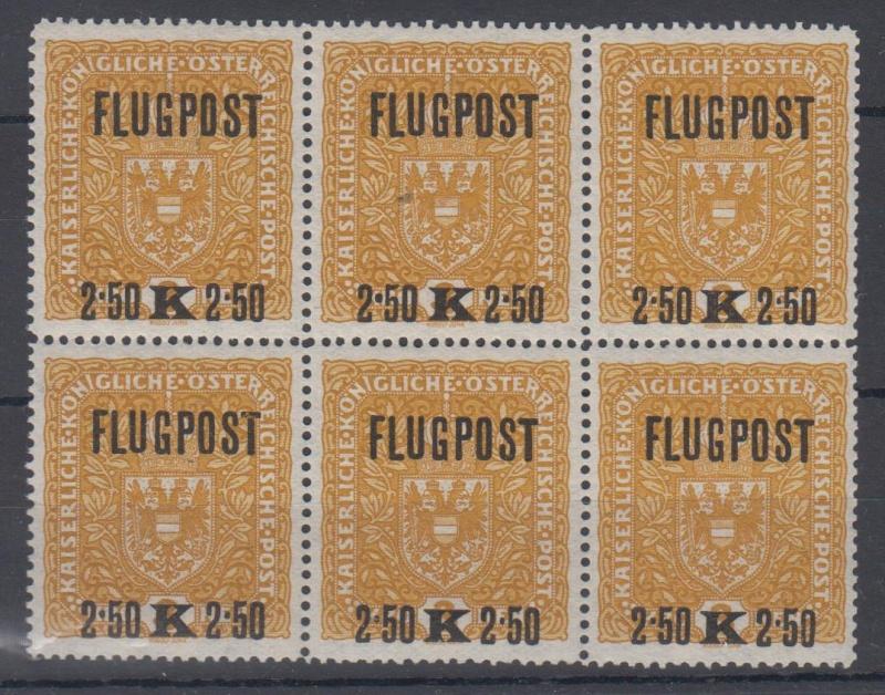 FLUGPOSTMARKEN-AUSGABE 1918  00310