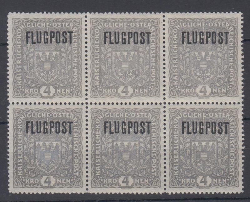 FLUGPOSTMARKEN-AUSGABE 1918  00410