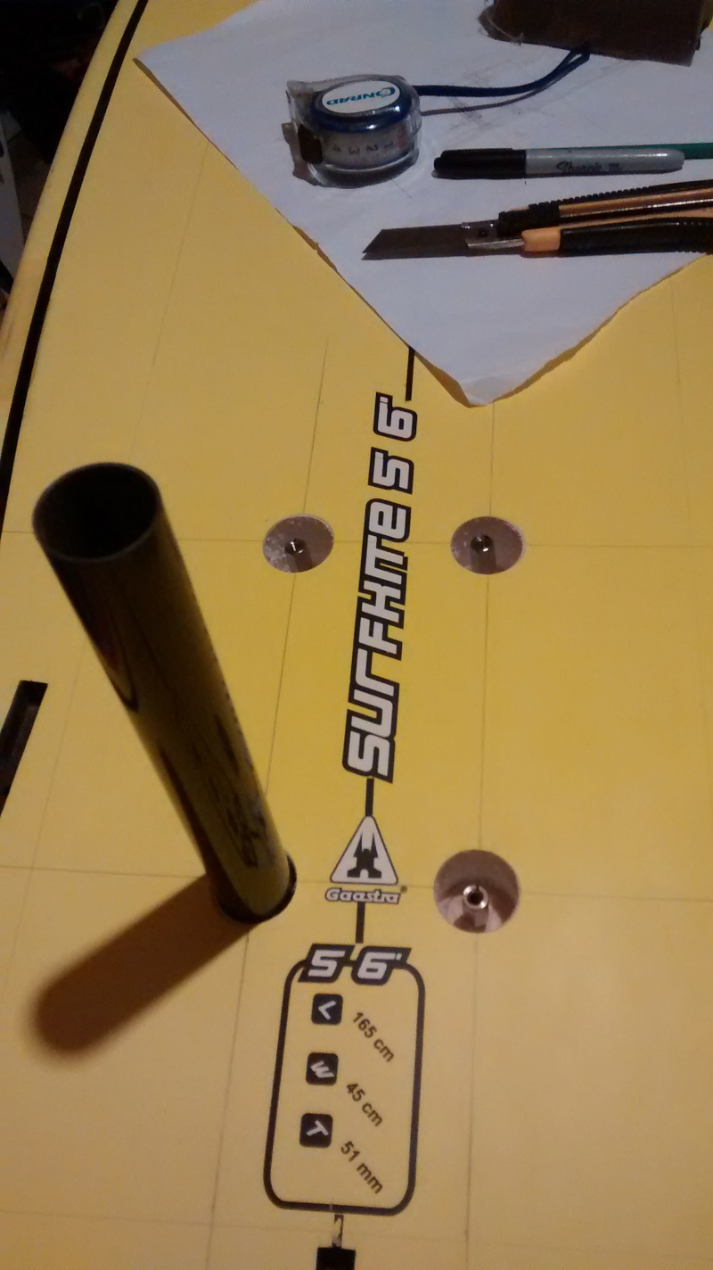 1 methode de renforts carbone / pose d'inserts sur surf Foil_012