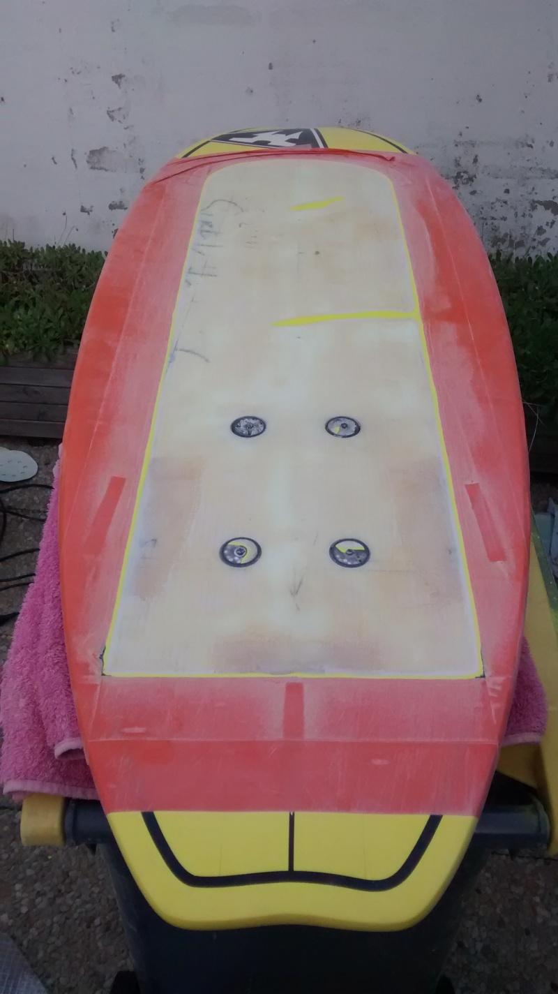 1 methode de renforts carbone / pose d'inserts sur surf Foil_018