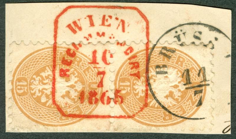 Die Freimarkenausgabe 1863/1864 1864_p10