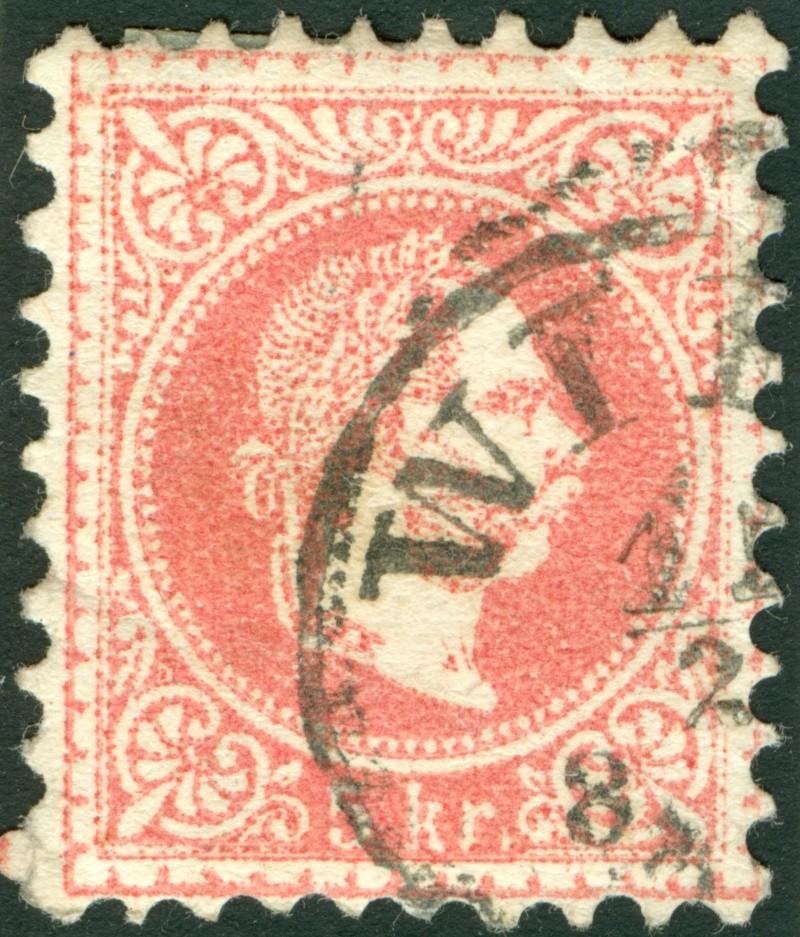 Freimarken-Ausgabe 1867 : Kopfbildnis Kaiser Franz Joseph I - Seite 9 1867_p10