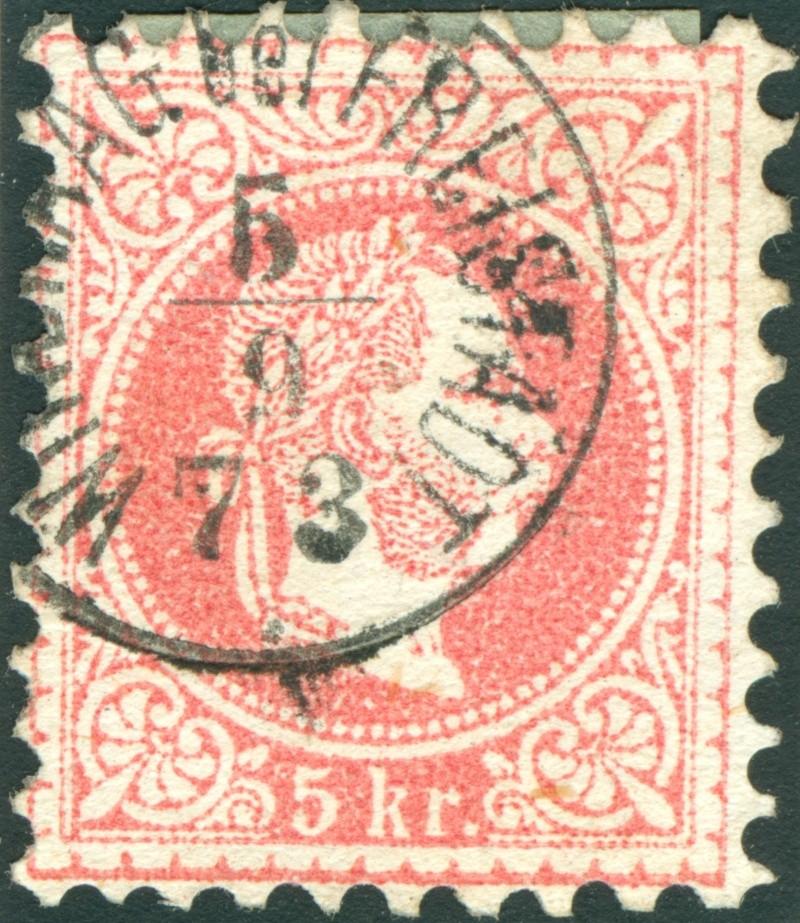 Freimarken-Ausgabe 1867 : Kopfbildnis Kaiser Franz Joseph I - Seite 9 1867_p11
