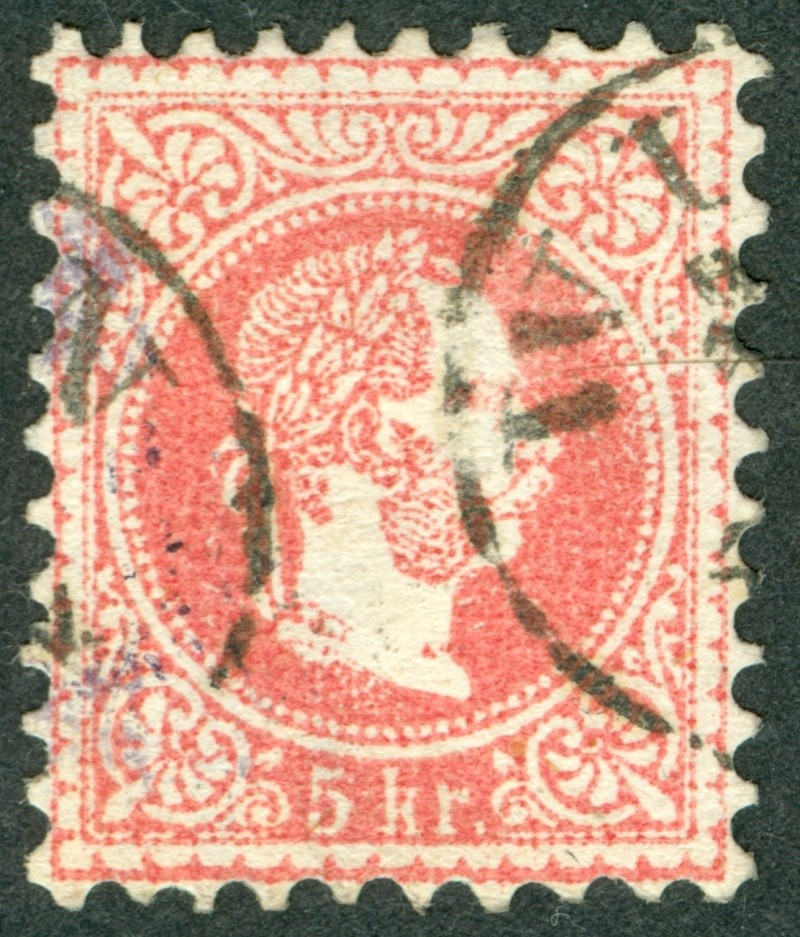 Freimarken-Ausgabe 1867 : Kopfbildnis Kaiser Franz Joseph I - Seite 9 1867_p13