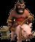 Chevaucheur de cochon