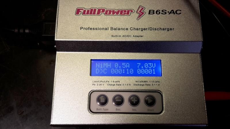 Batterie 7,2 volt e carica... Info e acquisto 2015-113