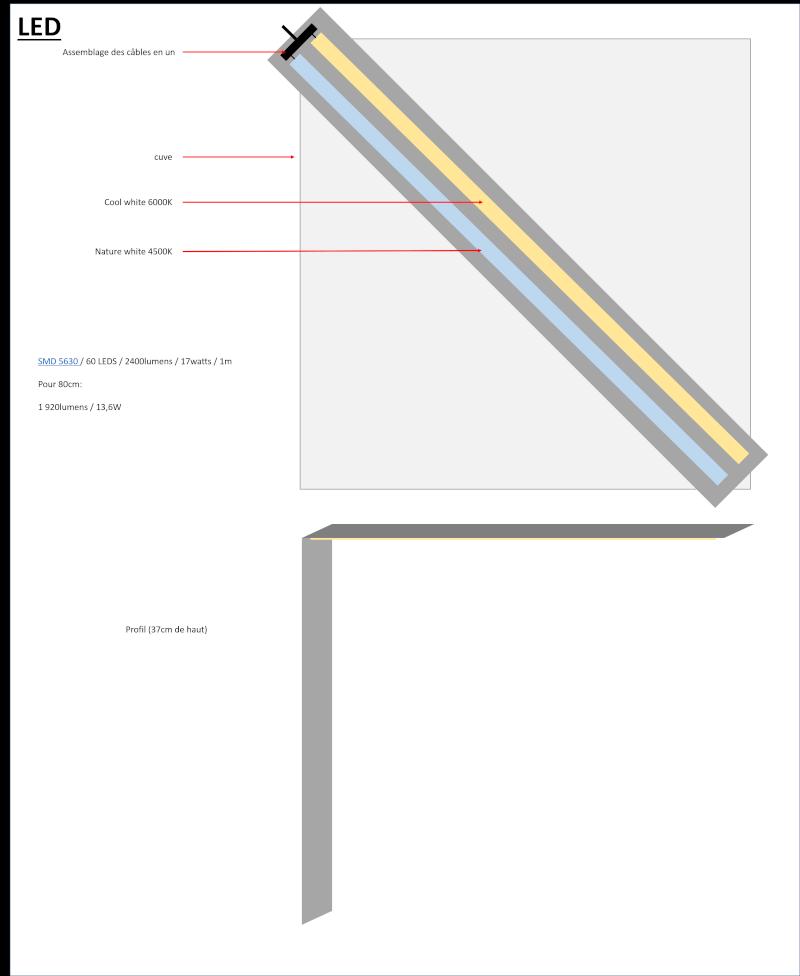 Aide rampe LED maison Led211
