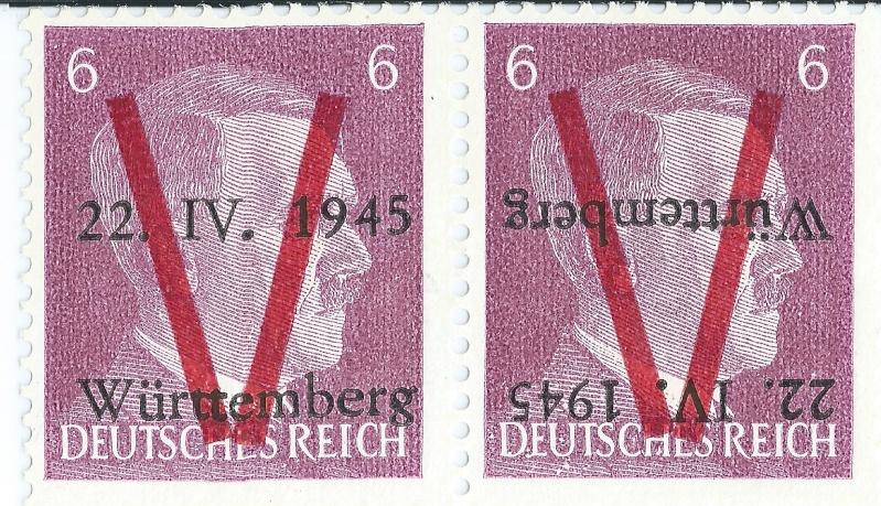 Nicht amtliche 6Pf Marke Hitler14