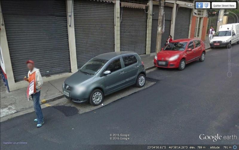 Street View : Les infractions au code de la route Trav110