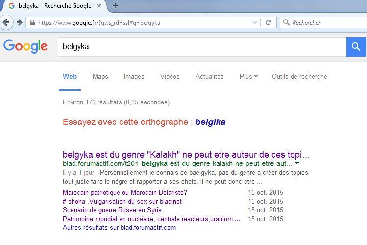 """belgyka est du genre """"Kalakh"""" ne peut etre auteur de ces topics Kalakh10"""
