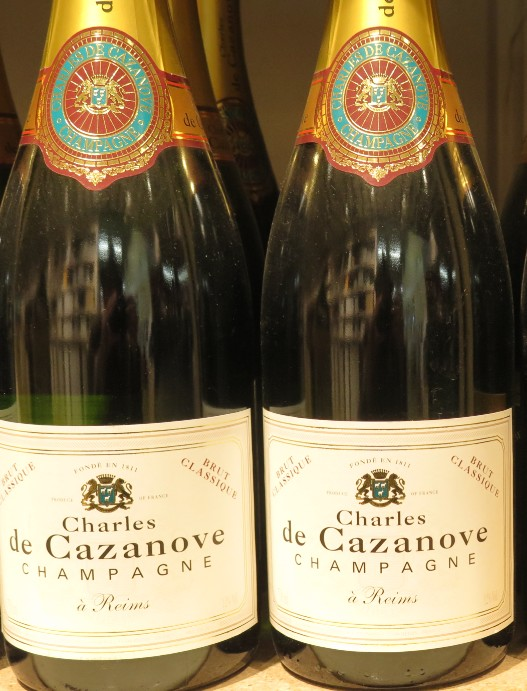 champagne - Champagne Charles de Cazanove - ( Blanc- Brut ) - 196  196_ch10