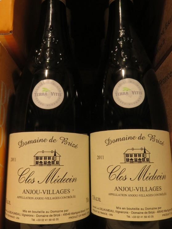 Anjou Villages  - ( Vin Rouge ) - 222  222_bi11