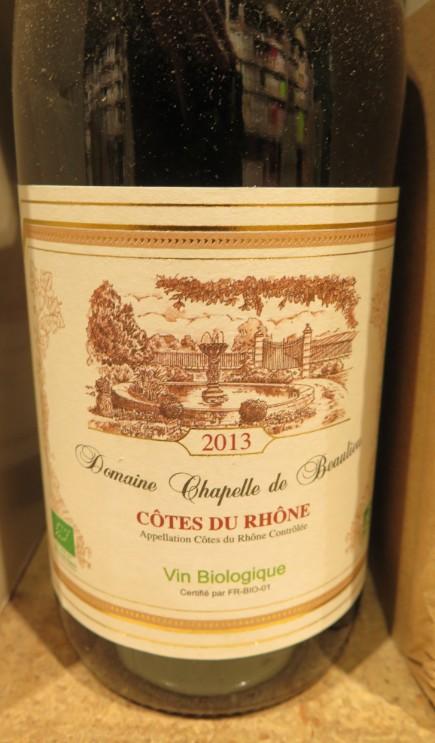 Côtes du Rhône  -  ( Vin Rouge) - 225    225_bi10