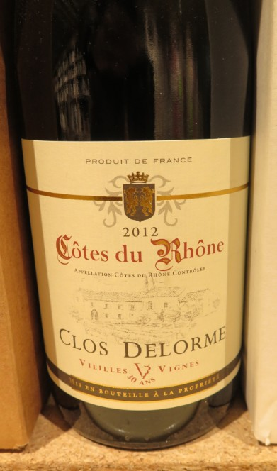Côtes du Rhône  -  ( Vin Rouge) - 225    225_bi11