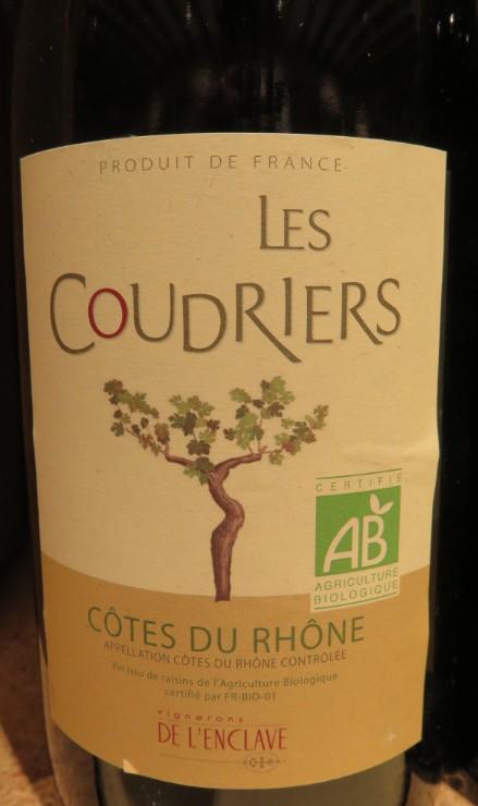 Côtes du Rhône  -  ( Vin Rouge) - 225    225_bi13