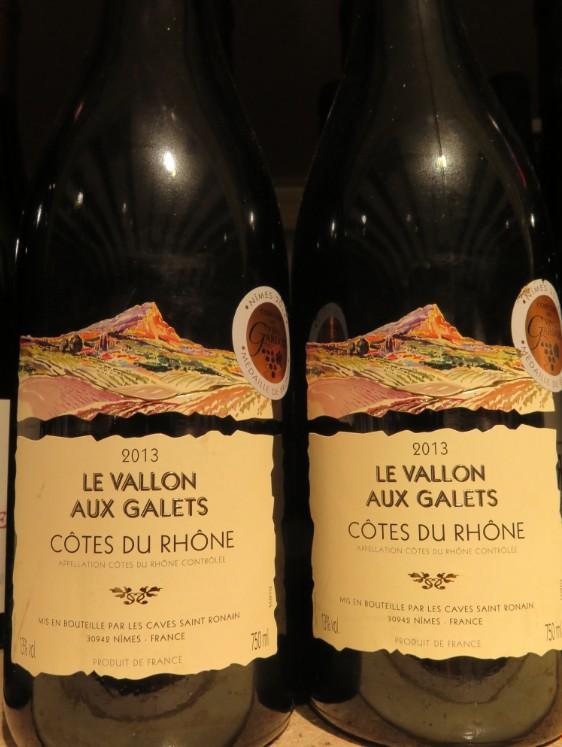 Côtes du Rhône  -  ( Vin Rouge) - 225    225_bi14