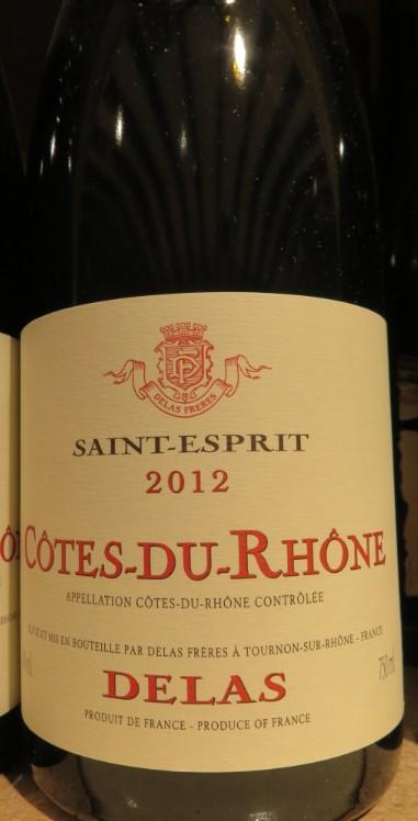 Côtes du Rhône  -  ( Vin Rouge) - 225    225_bi15