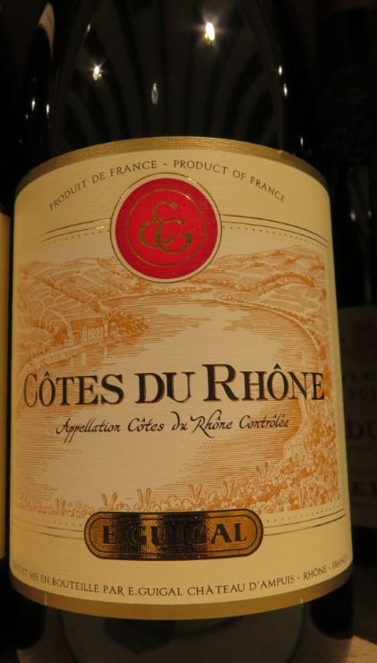 Côtes du Rhône  -  ( Vin Rouge) - 225    225_bi16