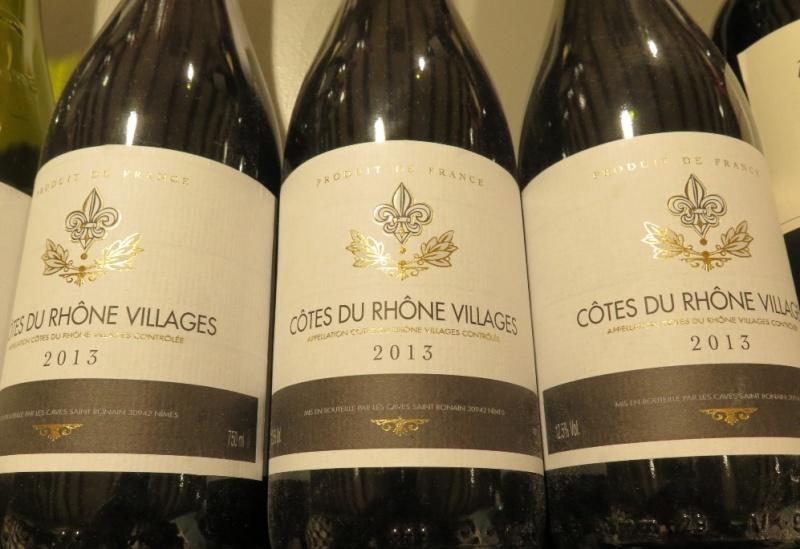 Côtes du Rhône Villages - ( Vin Rouge ) - 226 226_bi10