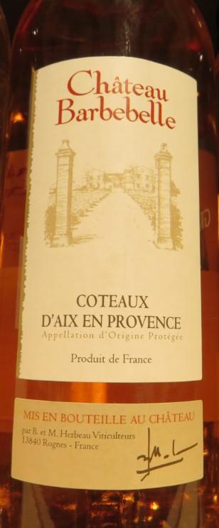 Côteaux d'Aix en Provence - ( Vin Rosé ) - 240 240_bi12
