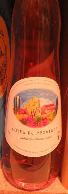 Côteaux de Provence - ( Vin Rosé ) - 245 245_bi11