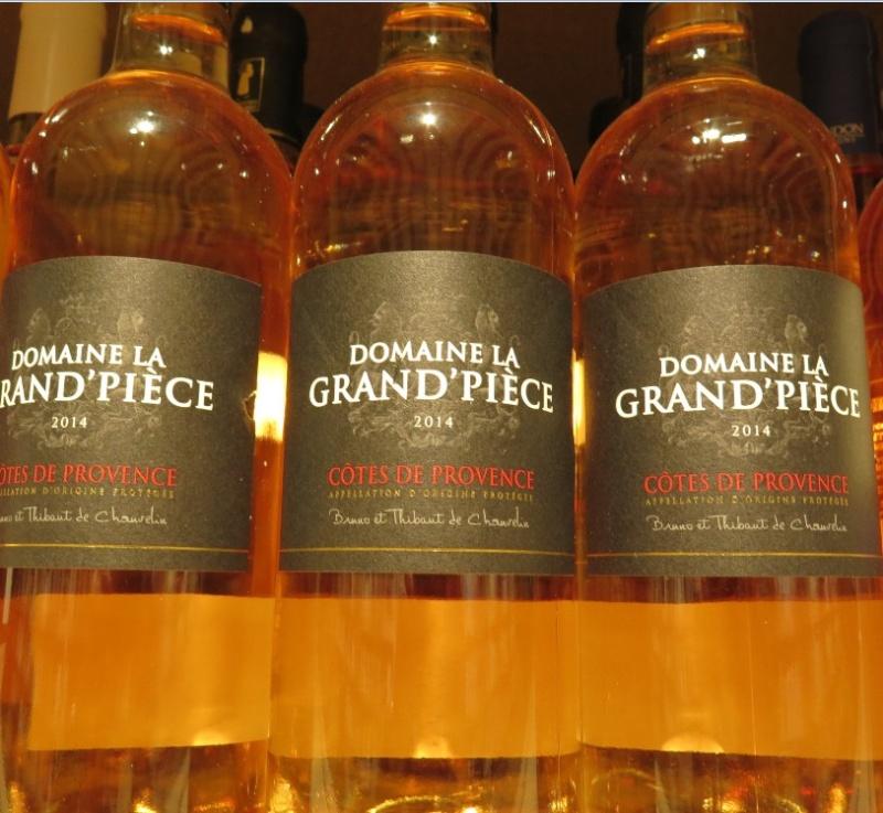 Côteaux de Provence - ( Vin Rosé ) - 245 245_bi14