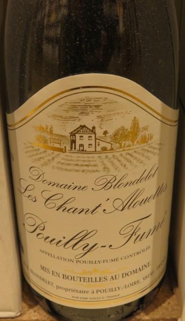 Pouilly-Fumé - ( Vin Blanc ) - 262  262_bi10