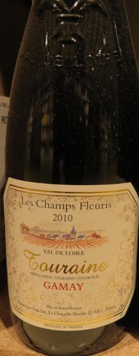 Touraine Gamay   - ( Vin Rouge ) - 273 273_bi10
