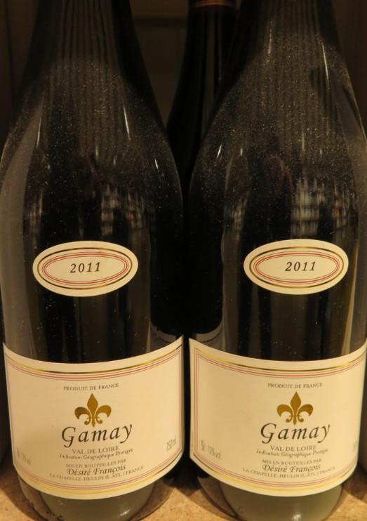 Gamay Val de Loire - ( Vin Rouge -  IGP Val Loire ) - 275  275_ga10