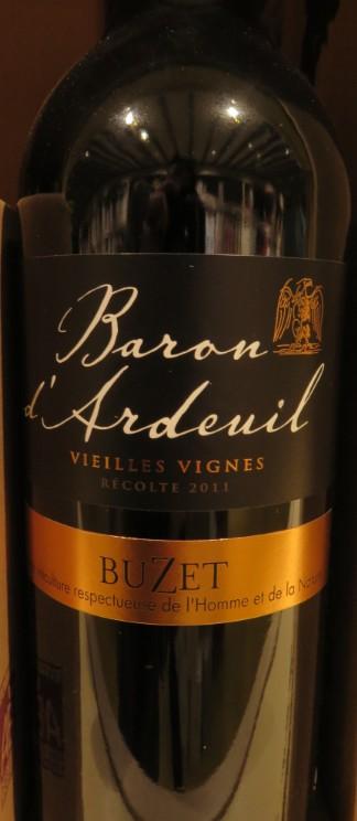 Buzet - ( Vin Rouge ) - 300 300_bu12