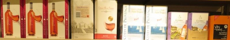 Bib - Bags in Box - Fontaine à Vin ( 10 - 5L - 3L ) -(  Rouge - Rosé - Blanc )  307_bi10