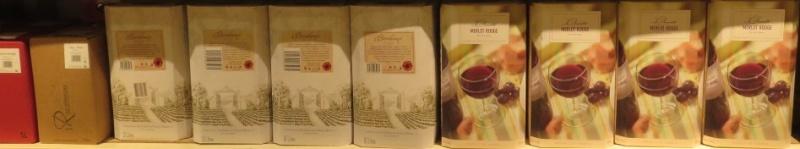 Bib - Bags in Box - Fontaine à Vin ( 10 - 5L - 3L ) -(  Rouge - Rosé - Blanc )  307_bi14