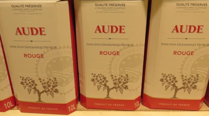 Bib - Bags in Box - Fontaine à Vin ( 10 - 5L - 3L ) -(  Rouge - Rosé - Blanc )  307_bi15