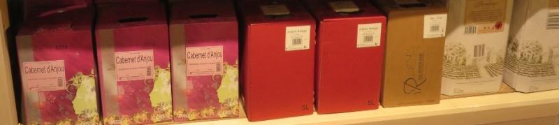 Bib - Bags in Box - Fontaine à Vin ( 10 - 5L - 3L ) -(  Rouge - Rosé - Blanc )  307_bi20