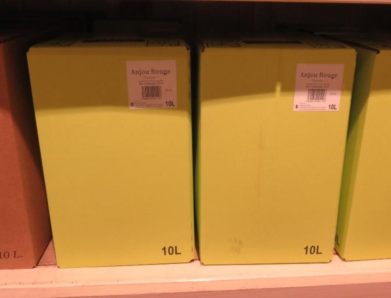 Bib - Bags in Box - Fontaine à Vin ( 10 - 5L - 3L ) -(  Rouge - Rosé - Blanc )  307_bi22