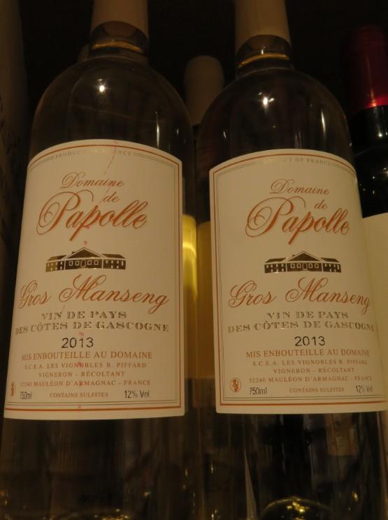 Vin de Pays des Côtes de Gascogne  - ( Vin Blanc -  IGP ) - 312 312_bi10