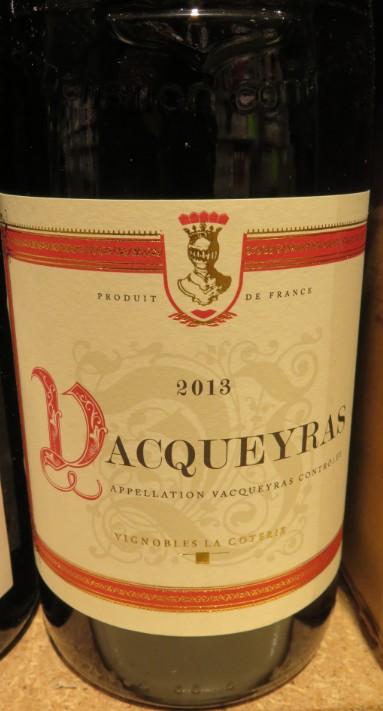 Vacqueyras - ( Vin Rouge ) - 319  319_va10