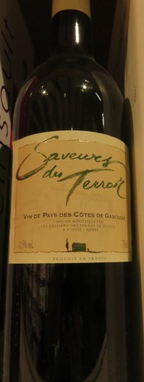 Vin de pays des Côtes de Gascogne  - ( Vin Rouge - IGP ) - 346  346_vi10