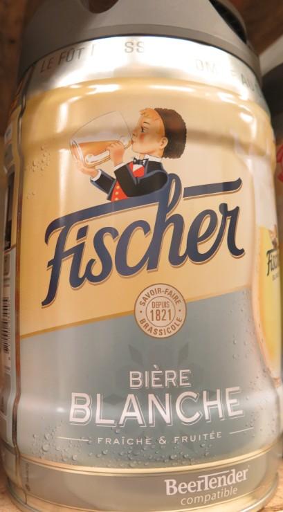 Fischer - Bière Blanche - Fût 5L - 360  361_bi10