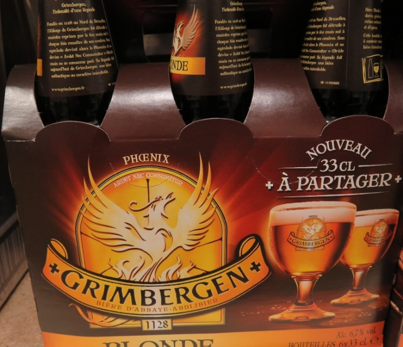Grimbergen - ( Bière Blonde ) - 370 370_gr10