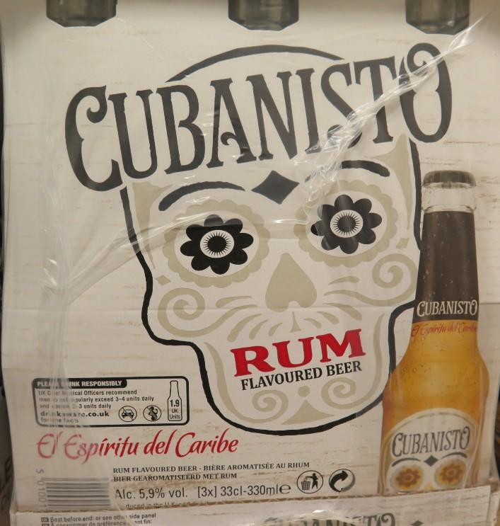 Cubanisto - ( Bière aromatisée au rhum) - 371 371_cu10